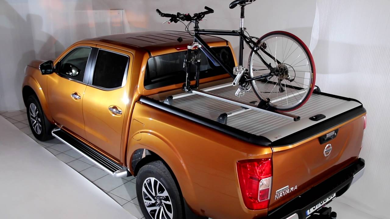 roll cover MOUNTAIN TOP ROLL for Nissan Navara NP300 - YouTube