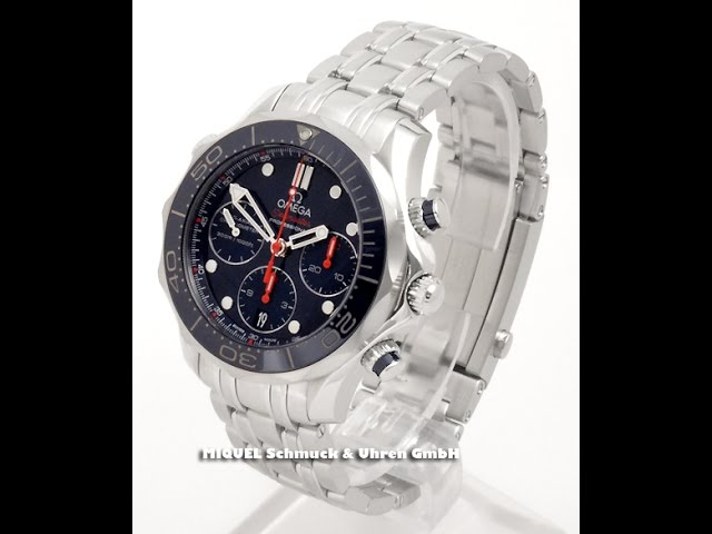 Omega Seamaster Diver 300 M Co-Axial Chronograph Ref. 212.30.42.50.03.001  (7784)