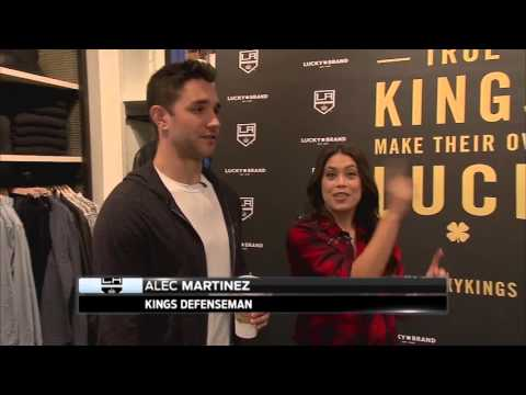Kings Weekly: Alec Martinez at Lucky Brand store