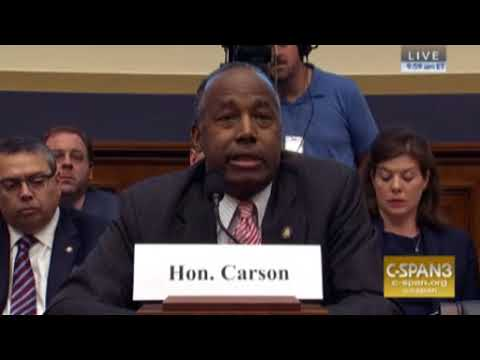 Ben Carson HUD Oversight Hearing Oct 12 2017