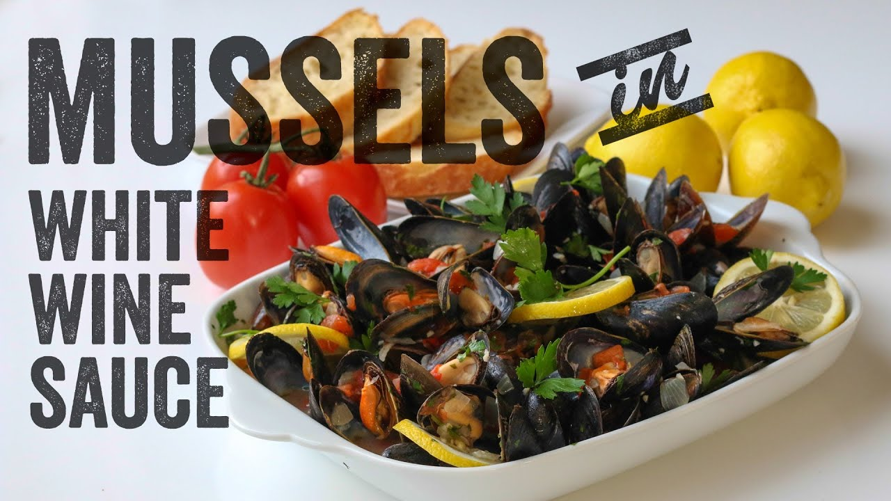 Mussels in White Wine Sauce Recipe: Bits & Pieces - Season ...
