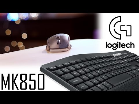 Logitech MK850 Wireless Keyboard and Mouse Combo - Full Review