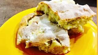 Яблочный пирог- самый нежный, вкуснейший, простой рецепт