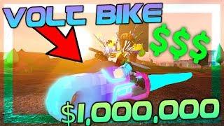 GETTING THE $1 MILLION VOLT BIKE!! *FAST* | Roblox Jailbreak