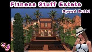 Fitness Stuff Estate - The Sims 4 - No CC