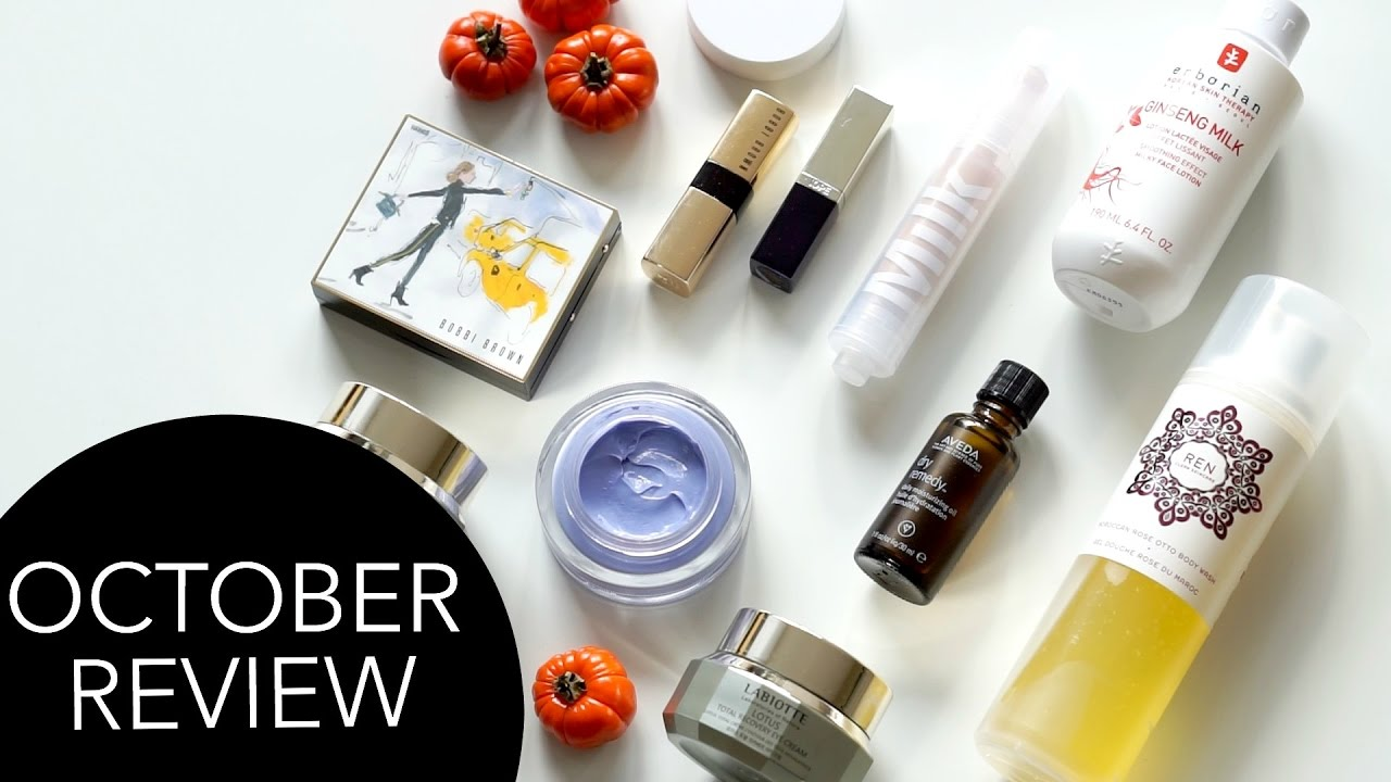 October Beauty Review | 2016