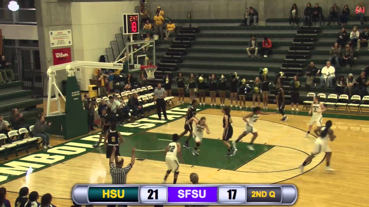 Humboldt State Women S Basketball Vs Sf State Highlights 12 12 15