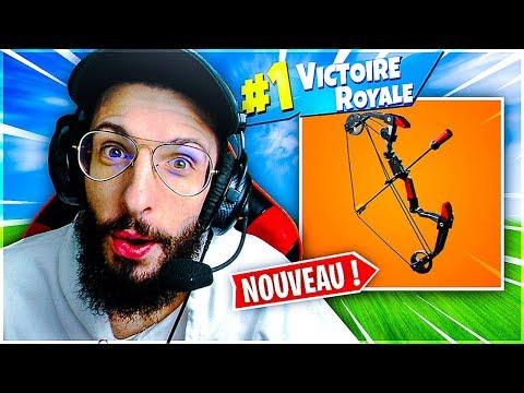 ON S'AMUSE AVEC L'ARC POUR LE TOP 1 SUR FORTNITE !
