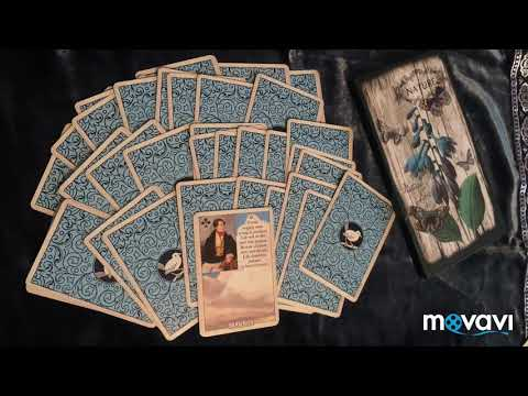 Blue Bird Lenormand/голубая птица Ленорман. Таро, оракулы. Перевод. Тучи