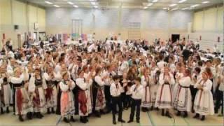 20. Volkstanzwettbewerb der SJD 2011 - Aufmarsch und Sternpolka