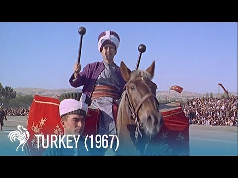 A Travel Guide to Turkey in the Sixties: From Waterfalls to Cotton Cliffs (1967) | British Pathé