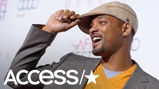 Will Smith Hits The Studio & Teases New Rap Song: