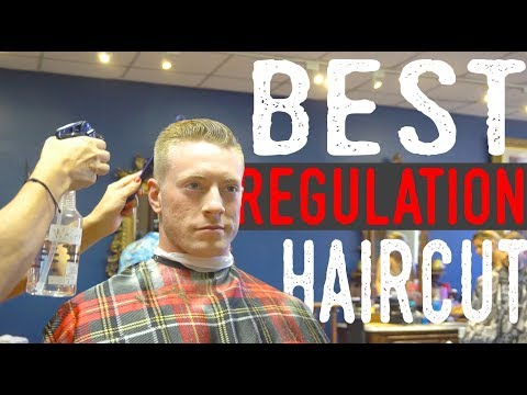 The BEST Military Haircut