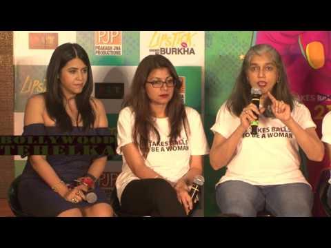 UNCUT | Lipstick Under My Burkha official trailer launch full HD video.