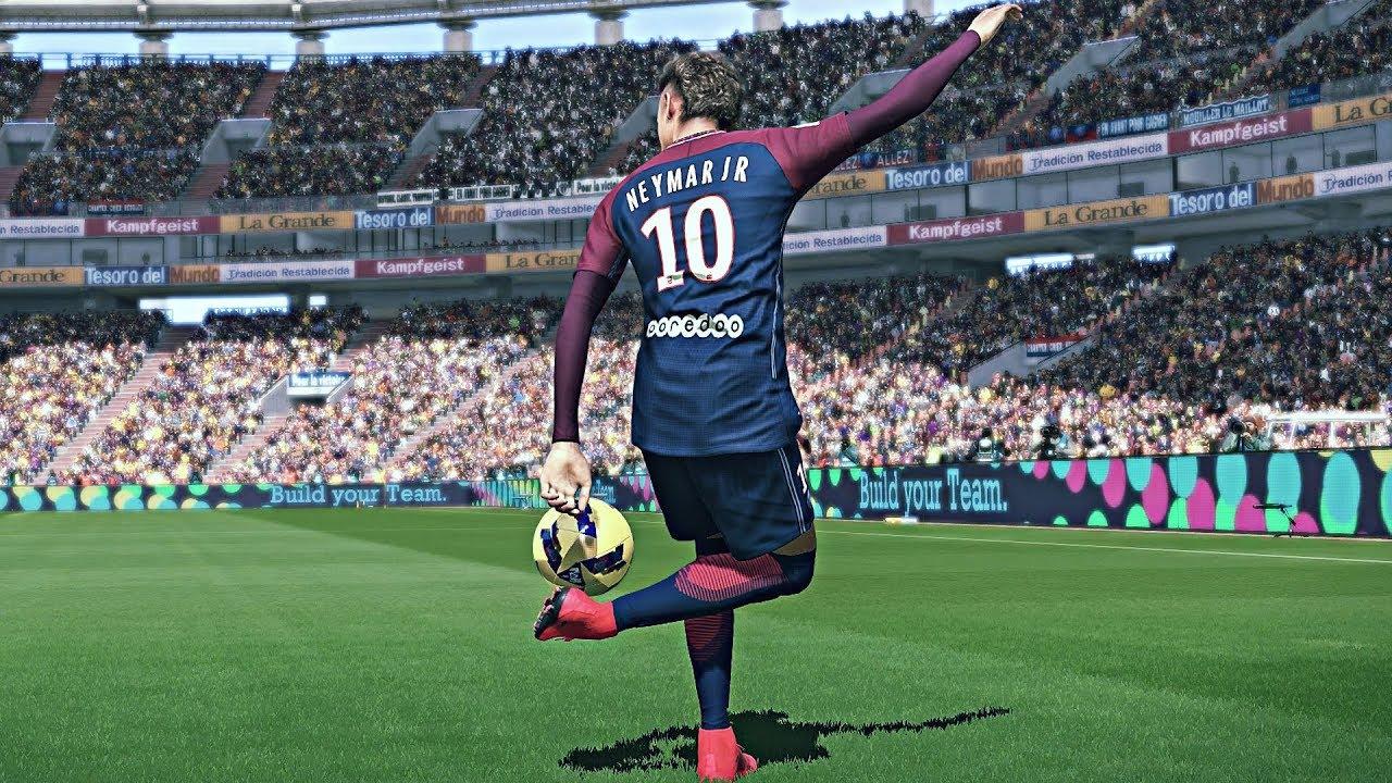 ed8c2cd157b PES 2018 - Neymar JR Goals   Skills HD 1080P - YouTube