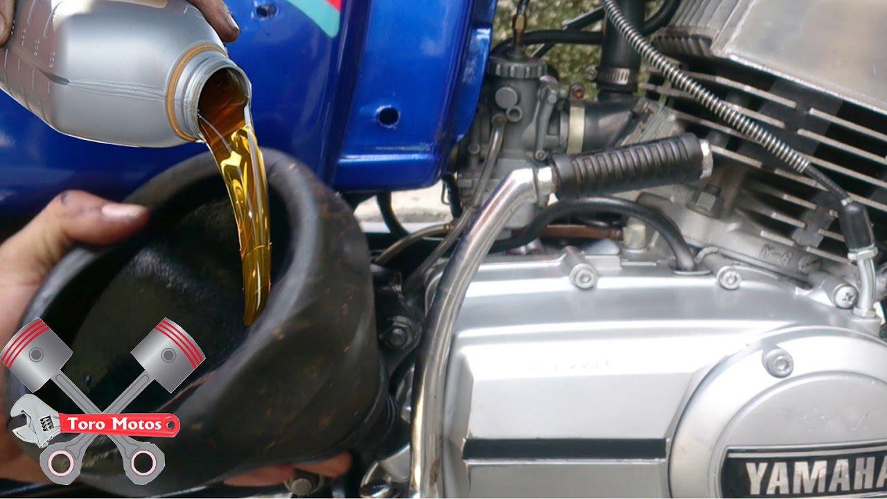 Yamaha rx 115 cambio de aceite de motor toromotos youtube for Yamaha rx115 motorcycle for sale