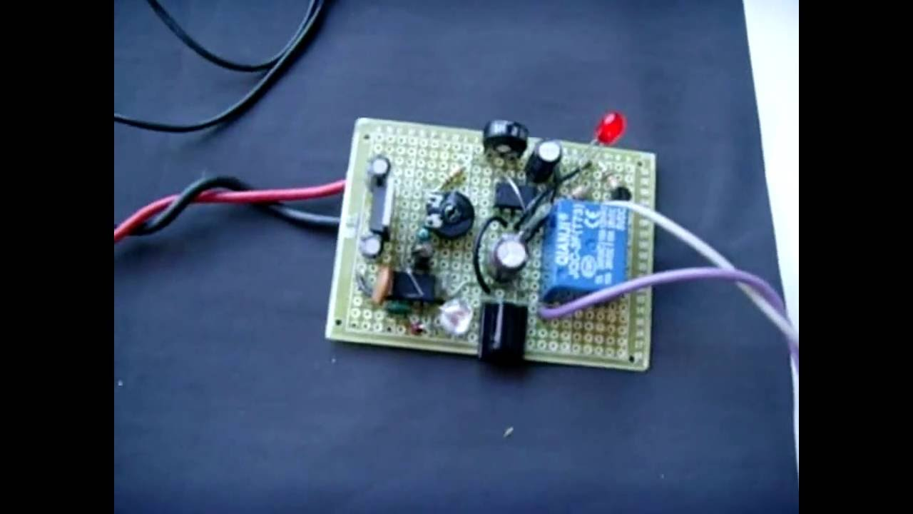 Motion Wave Hand Activated Relay Circuit Timed Youtube Light With 555 Ic