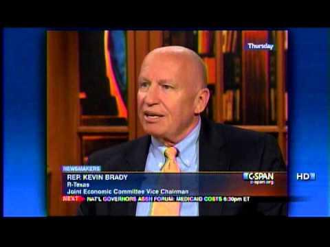 Rep. Kevin Brady speaks on C-SPAN Newsmakers