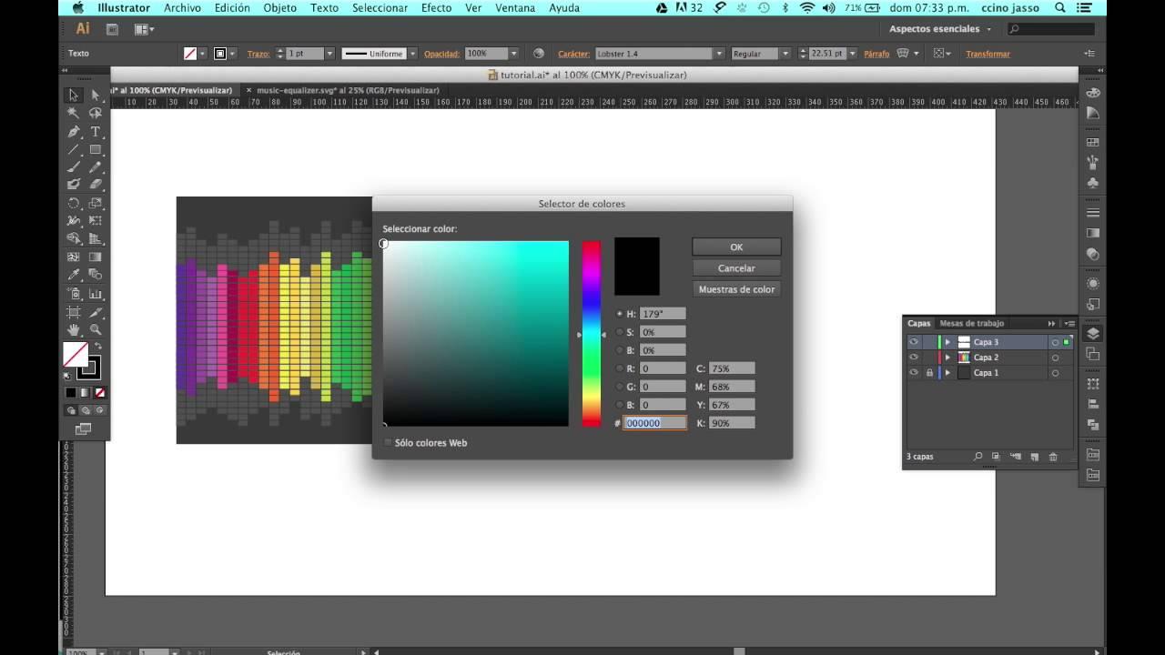 Como diseñar una portada CD en Adobe Illustrator. - YouTube