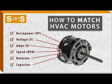 How To Match An HVAC Motor (In-Depth Guide) | Spec. Sense