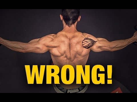 How to Build Your Rear Delts (NOT REVERSE FLYS!)