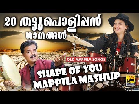 Shape Of You - 20 മാപ്പിളപാട്ടുകൾ  തട്ടുപൊളിപ്പൻ ശൈലിയിൽ - Malayalam Mashup - Non Stop Mappila Songs