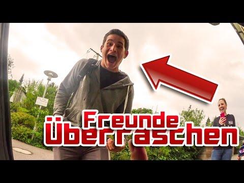 Freunde ÜBERRASCHEN nach 8 monaten reisen! - Vlog #62