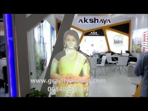AKSHAYA HOMES - VIRTUAL MANNEQUIN INDIA CHENNAI TRADE CENTRE- GRAVITY MEDIA SOLUTIONS