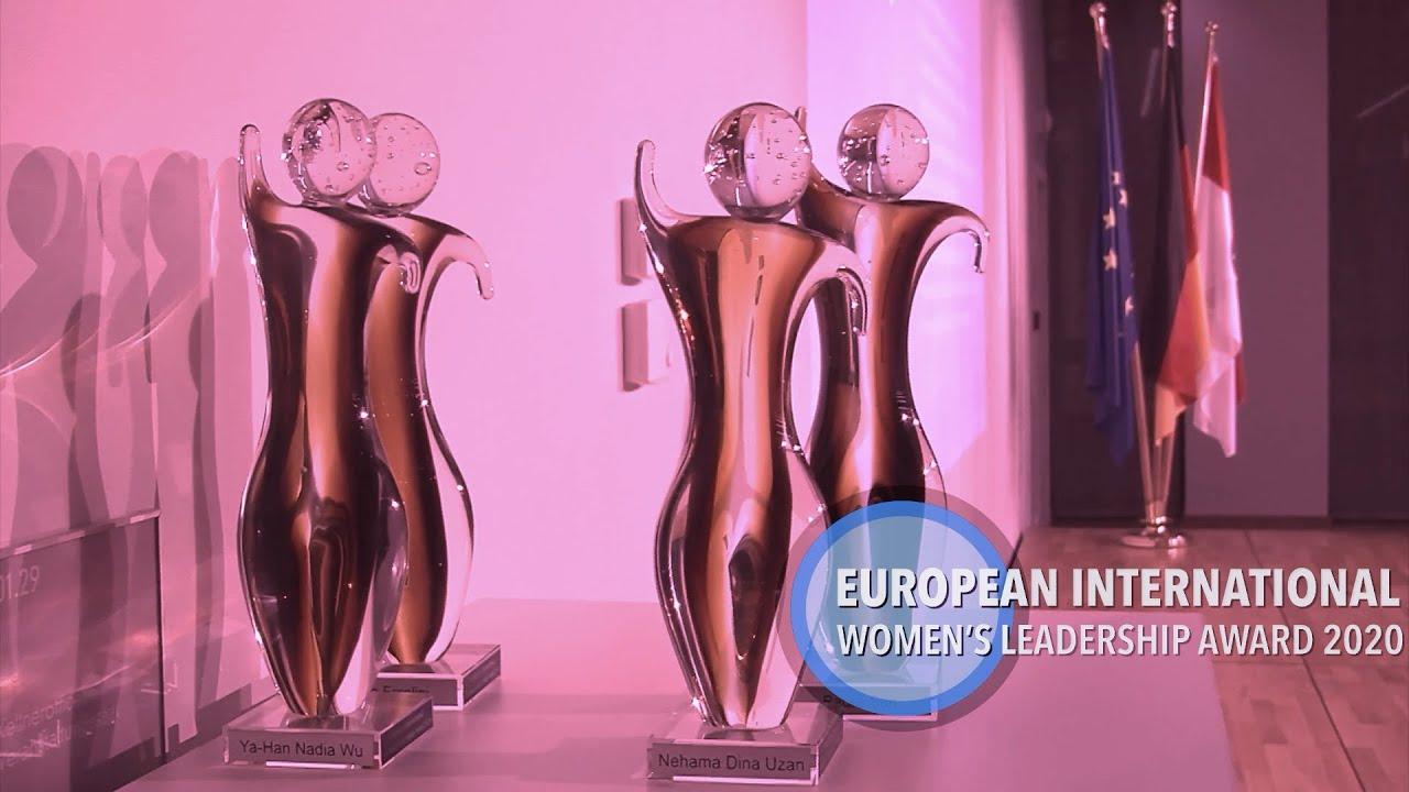 European & International Women's Leadership Award 2020...