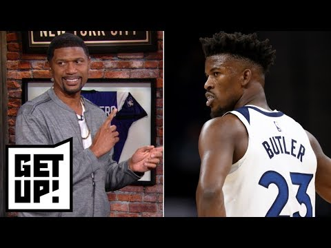 Is Jimmy Butler worth Rockets' offer of 4 first-round picks? | Get Up!