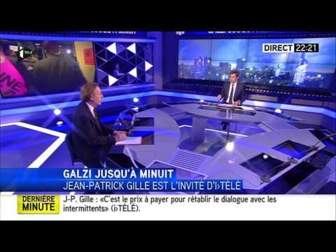 Intermittents - interview du médiateur Jean-Patrick Gille i TELE 19.06.2014