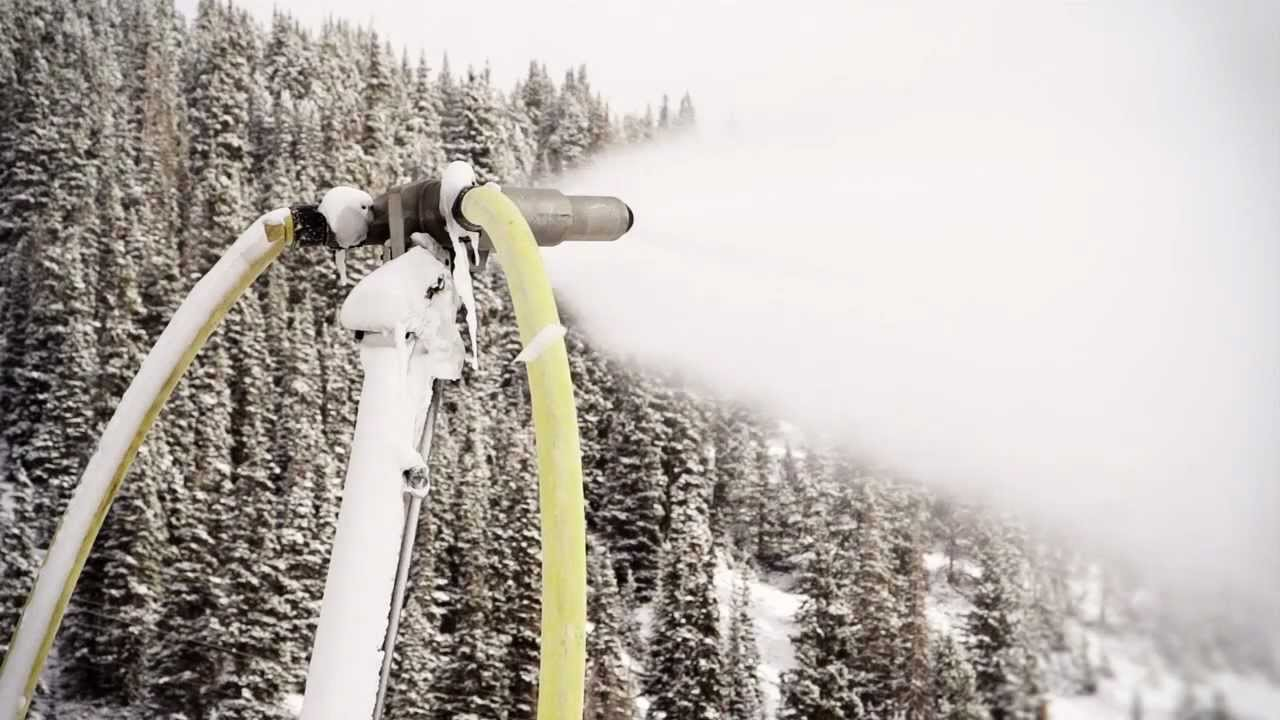 Snow Science: Snowmaking Part 1 - Making Snow on the Mountain