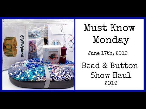 Repeat Brick Stitch Diamond Bracelet - Must Know Monday 1/15/18 by