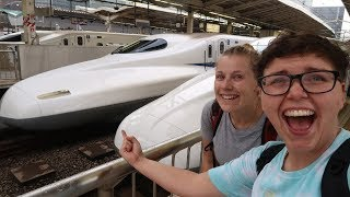 Tokyo to Osaka On The BULLET TRAIN!