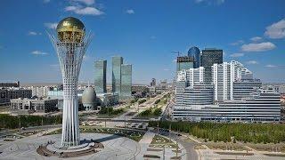 Астана #1 | Пешком по центру и Панорамный вид с Башни Байтерек