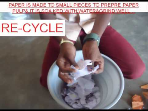Waste paper to Best product