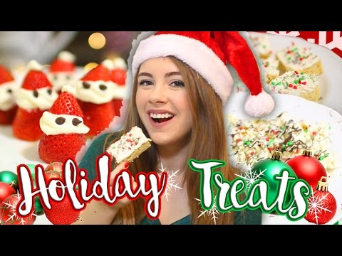 DIY Easy No Bake Holiday Treats & Christmas Snacks! Easy & Affordable Ideas! // Jill Cimorelli