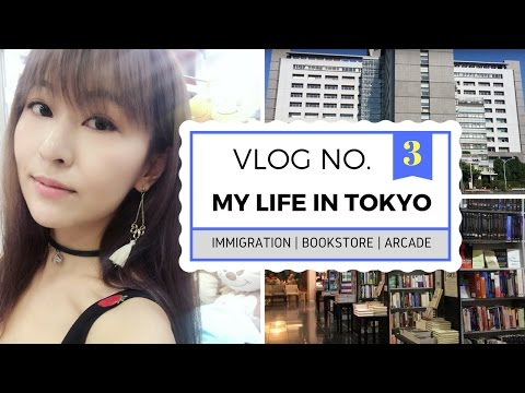 A Day in My Life in Tokyo - Visa Issues, Bookstore & Japanese Arcade | JAPAN VLOG 3
