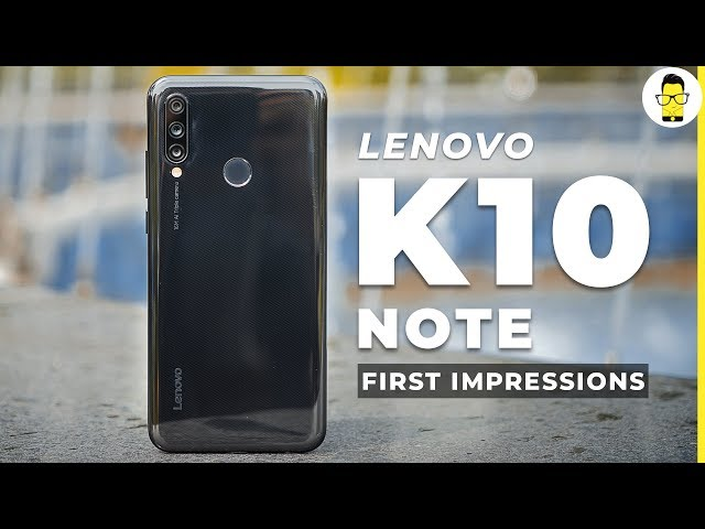 Lenovo A6 Note with Helio P22 SoC and 4000 mAh battery