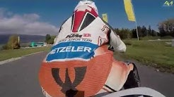 KTM RC390 Cup - Jason Dupasquier à l'oeuvre sur le circuit de Lignières