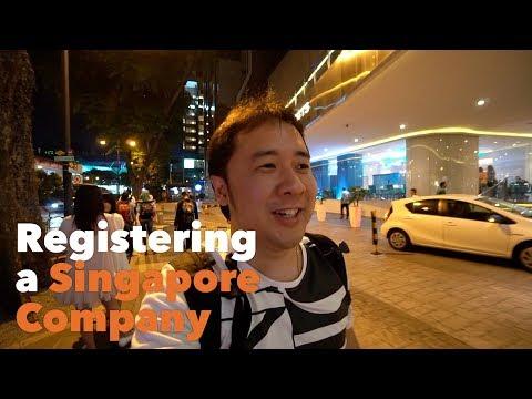 Registering a Singapore Company | DennySantosoTV EP42
