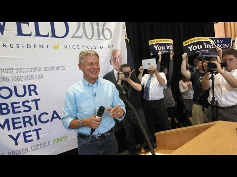 Newspaper endorses Gary Johnson