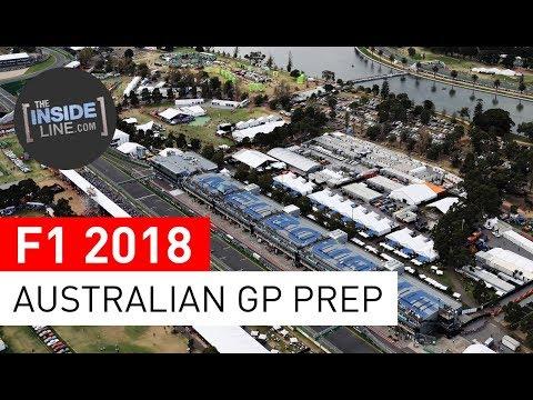 F1 NEWS 2018 - AUSTRALIAN GRAND PRIX: EVENT PREPARATION [THE INSIDE LINE TV SHOW]