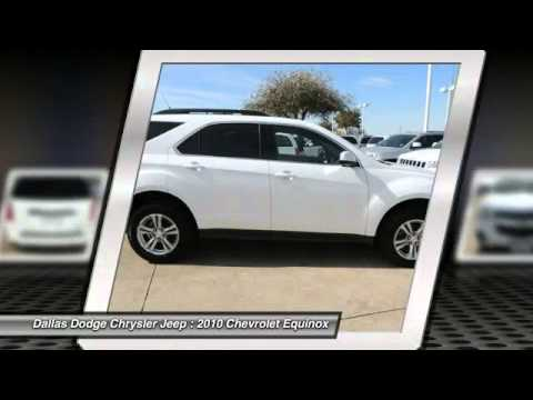 chevrolet equinox at dallas chrysler dodge jeep ram a6401445 youtube. Cars Review. Best American Auto & Cars Review