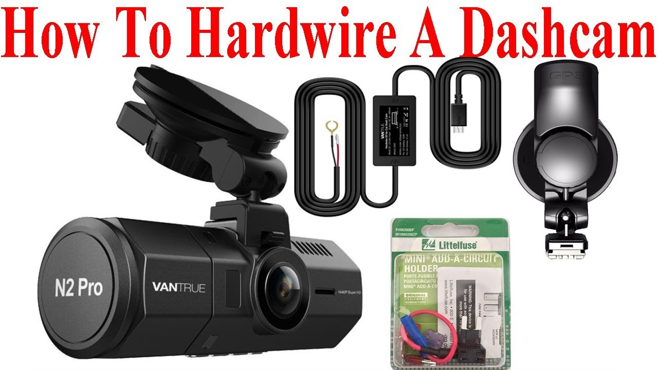 how to hardwire a vantrue n2 pro and other dash cams youtube. Black Bedroom Furniture Sets. Home Design Ideas