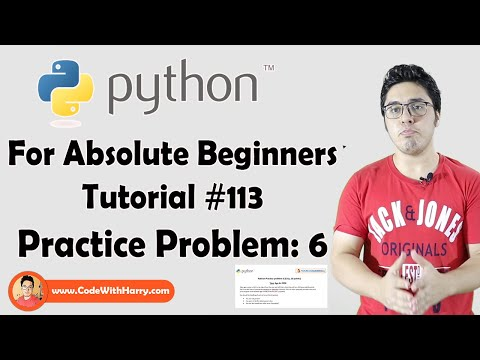 Python Problem 6 | Python Tutorials For Absolute Beginners In Hindi #113 thumbnail