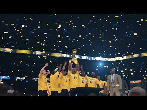 NBA 2K18 - Indiana Pacers Championship Celebration