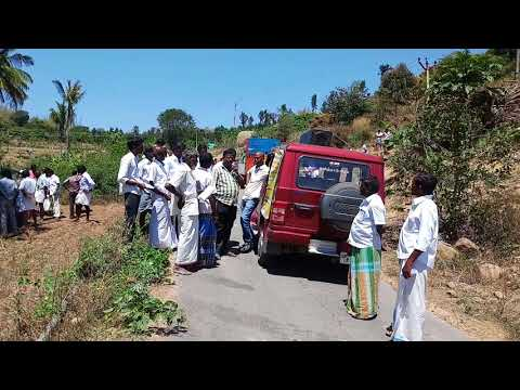PMKSY - MI Scheme Vehicle Street Campaign conducted by Ayothiyapattam Block Agri Dept.