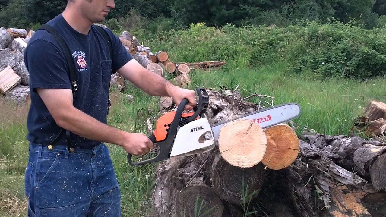 stihl ms 211 - youtube