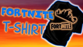 For Real, how to make a Fortnite t-shirt, EASY and cool project!